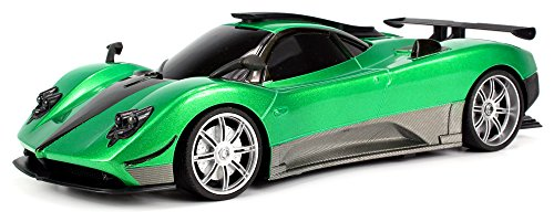 High Quality This High Gloss, Metallic Green And Silver Or Bright Red And Silver 1:16 Sports  Car Is A Lean, Mean Racing Machine. At 11u2033 Long, 2.5u2033 High, And 5u2033 Wide, ...