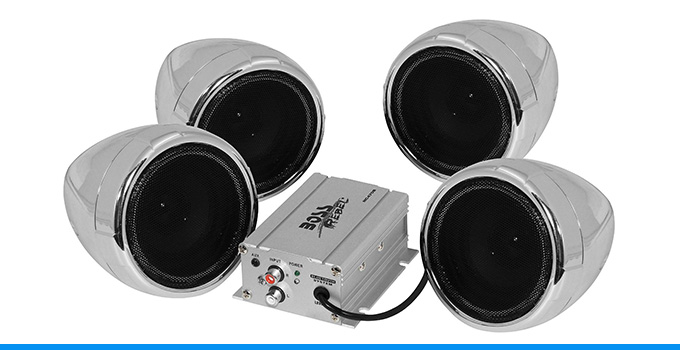 Top 10 Best Motorcycle Speakers For 2019 Top Ten Select