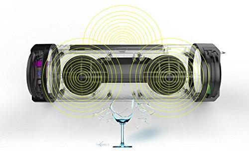 Tmvel Aquamasti Rugged Wireless Shockproof 100 Water Resistant Waterproof 10w Speaker