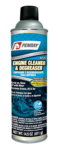 how to clean car engine without degreaser