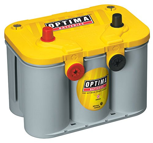 Ten Best Automotive Car Batteries Reviews 1 The Optima 8014 045 Yellowtop Deep Cycle Battery