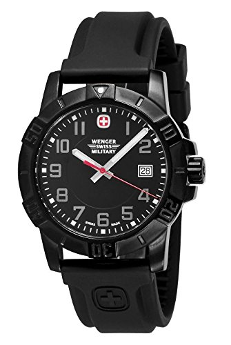 top 10 best military watches under 200 2017 edition top ten wenger men s sport 3 swiss military watch pvd rubber black