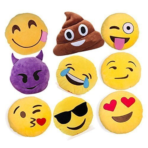 Top Ten Best Emoji Pillows For Birthdays Or Christmas 2017