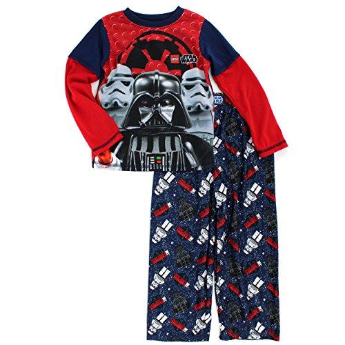 Little Kid//Big Kid LEGO Star Wars Boys Flannel Lounge Pajama Pants