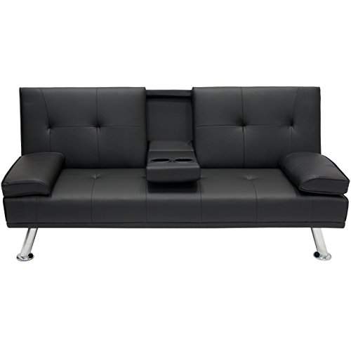 Best Choice Products Modern Futon Sofa Bed