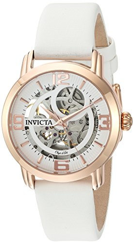 Invicta Women s Objet d Art Automatic Stainless Steel and Satin Casual Watch 72482f61d9