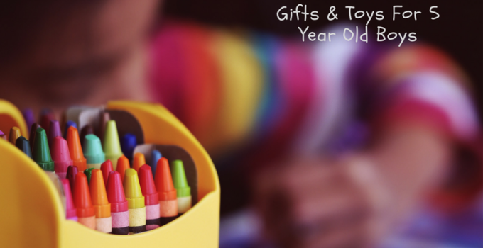 gifts and toys for 5 year old boys
