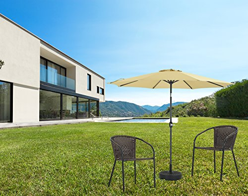 The Best Patio Umbrella Reviews Watcher Aluminum