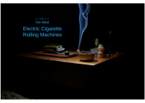 best electric cigarette rolling machine